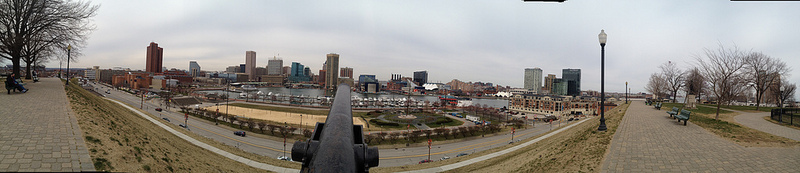 The Inner Harbor from Federal Hill